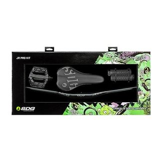 SDG Jr Pro Kit (Pedals, Bars, Grips, Saddle) Black
