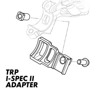 TRP INTEGRATED SHIFTER ADAPTERS - LEFT- I-SPEC II TO MATCHMAKER