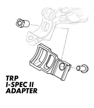 TRP TRP INTEGRATED SHIFTER ADAPTERS - LEFT- I-SPEC II TO MATCHMAKER