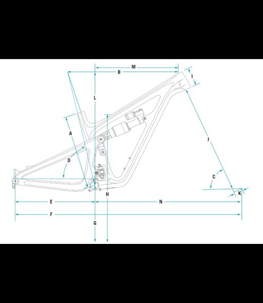 Yeti Cycles SB150 TURQ SERIES 2021