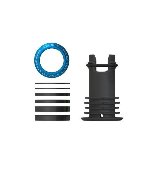 OneUp Components EDC Top Cap, Blue