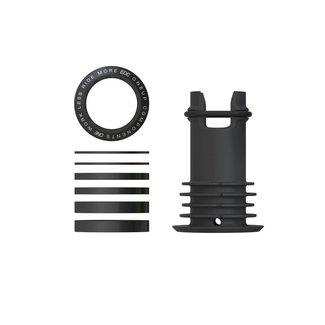 OneUp Components EDC Top Cap, Black