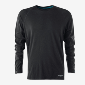Yeti Cycles TURQ MERINO L/S JERSEY PHANTOM LG LG PHANTOM