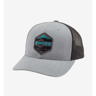 Yeti Cycles MOUNTAIN PATCH TRUCKER HAT GREY SNAPBACK
