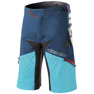DROP PRO SHORTS - POSEIDON BLUE ATOLL BLUE - 34