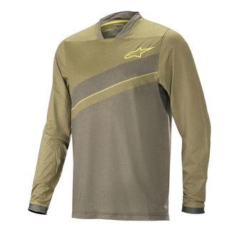 ALPS 8.0 LS JERSEY - MILITARY GREEN GRAPE LEAF - L
