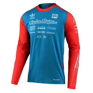 Ultra Jersey; Adidas Team Ocean / Flo Orange Medium