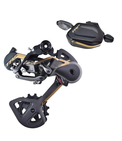 TRP G-SPEC TR12 DERAILLEUR AND SHIFTER KIT GOLD