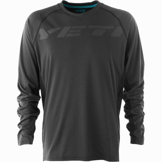 Yeti Cycles TOLLAND L/S JERSEY BLACK - MEDIUM