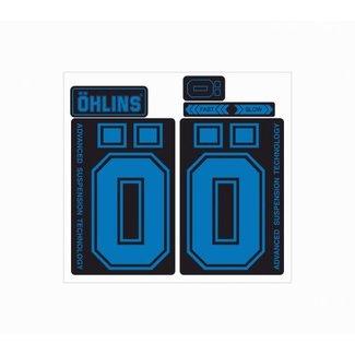 invisiFRAME Ohlins M2 Decal, Gloss, Dark Blue