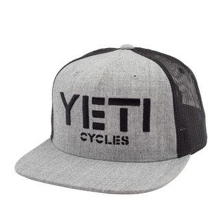 Yeti Cycles PODIUM HAT GREY SNAPBACK