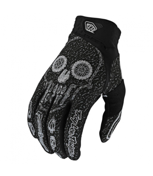 AIR GLOVE - GEAR HEAD - BLACK LARGE
