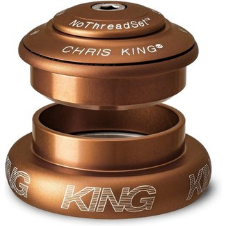 Chris King Components Headset, InSet, i2, Matte Bourbon, ZS44|ZS56, Tapered