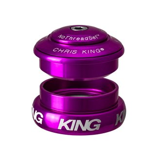 Chris King Components Headset, InSet, i2, Purple, ZS44|ZS56, Tapered