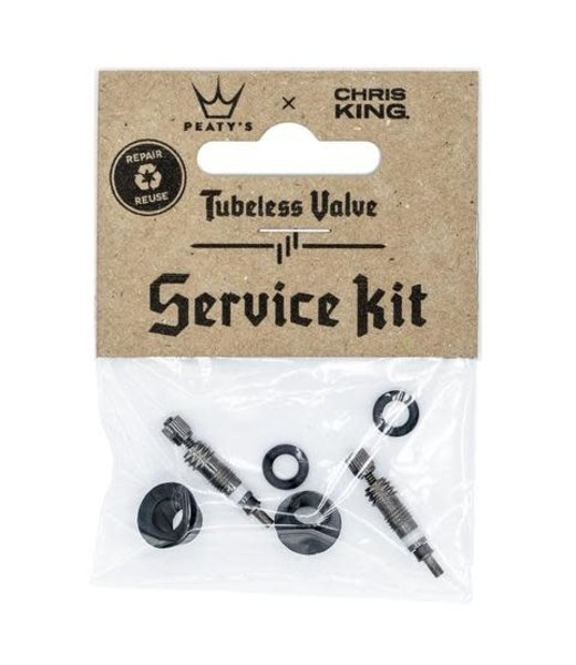 Peaty's PEATYS X CHRIS KING (MK2) TUBELESS VALVE SERVICE KIT