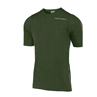 Jersey Skyline Ss Solid Heather Green