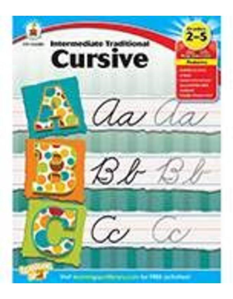 Intermediate Traditional Cursive Grade 2-5