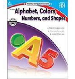 Alphabet, Colors, Numbers, and Shapes (PK–1) Book