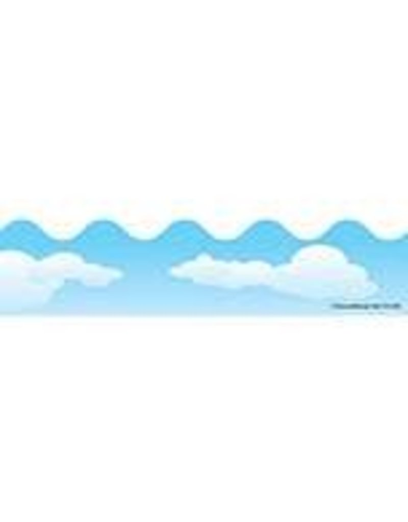 Clouds Scalloped Border