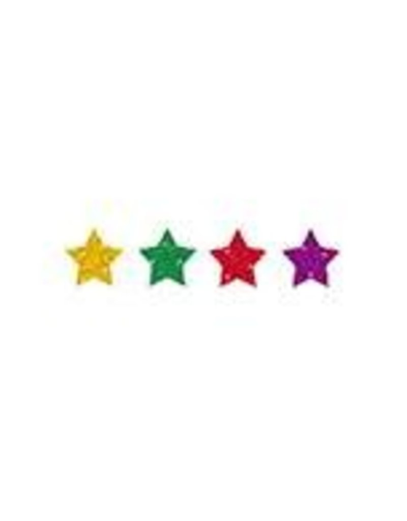 Multicolored Stars Dazzle™ Chart Seals