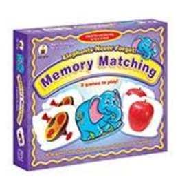 Elephants Never Forget! Memory Matching Game