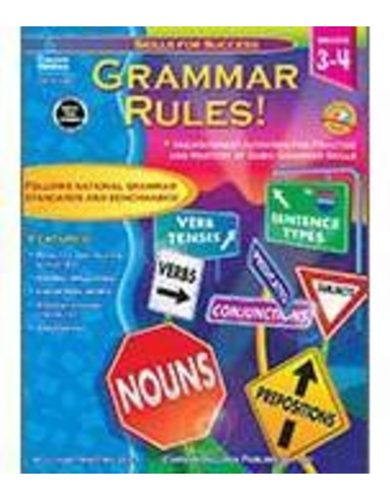 Grammar Rules! (3–4) Book