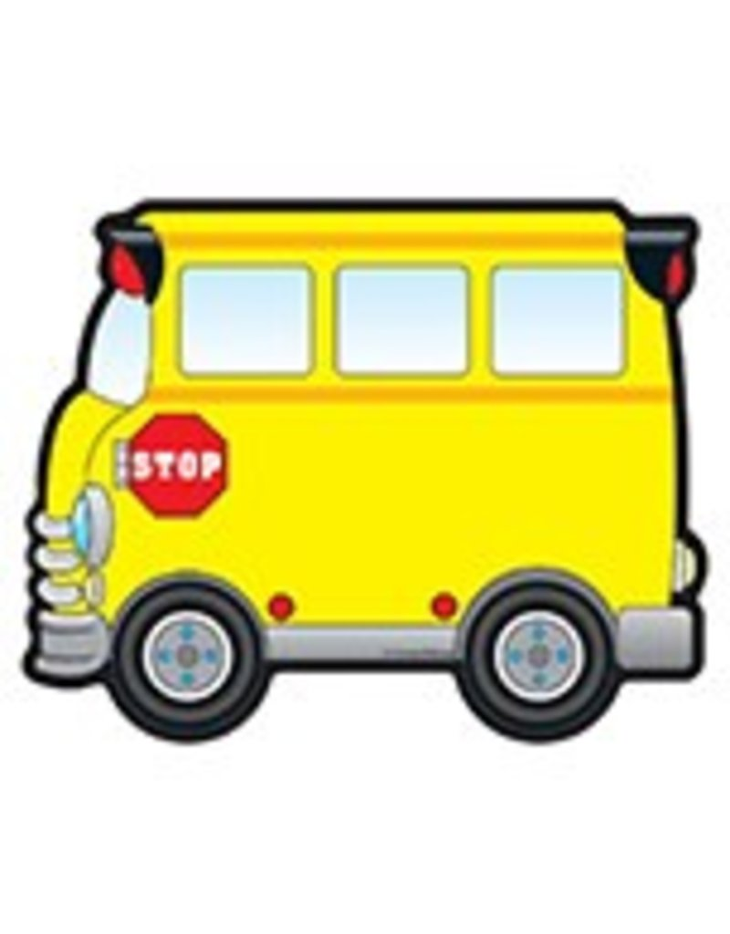 School Buses Colorful CutOuts®
