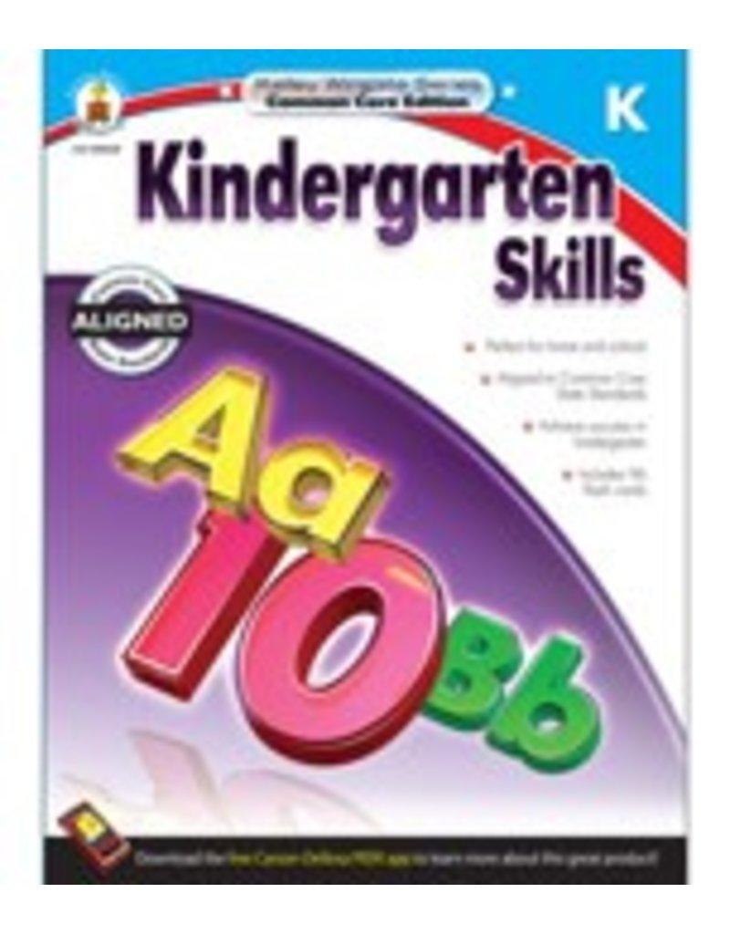 Kindergarten Skills Book