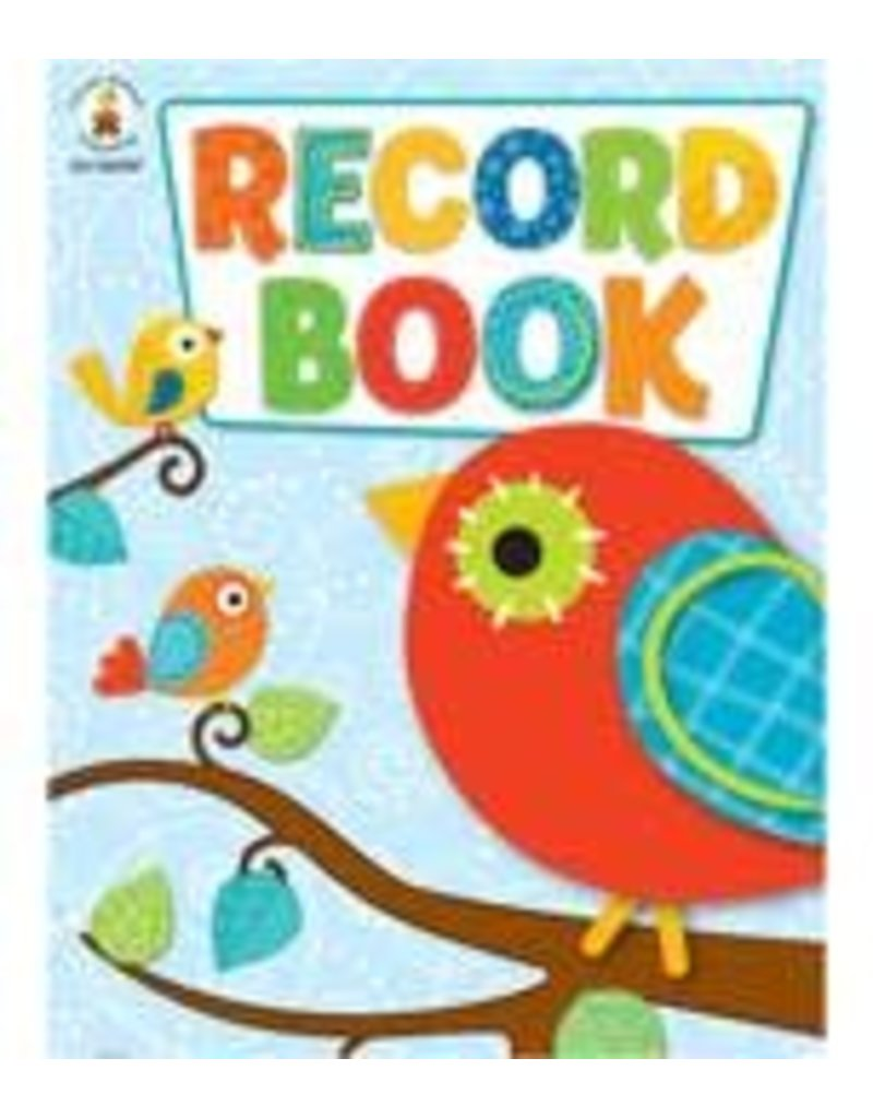 Boho Birds Record Book