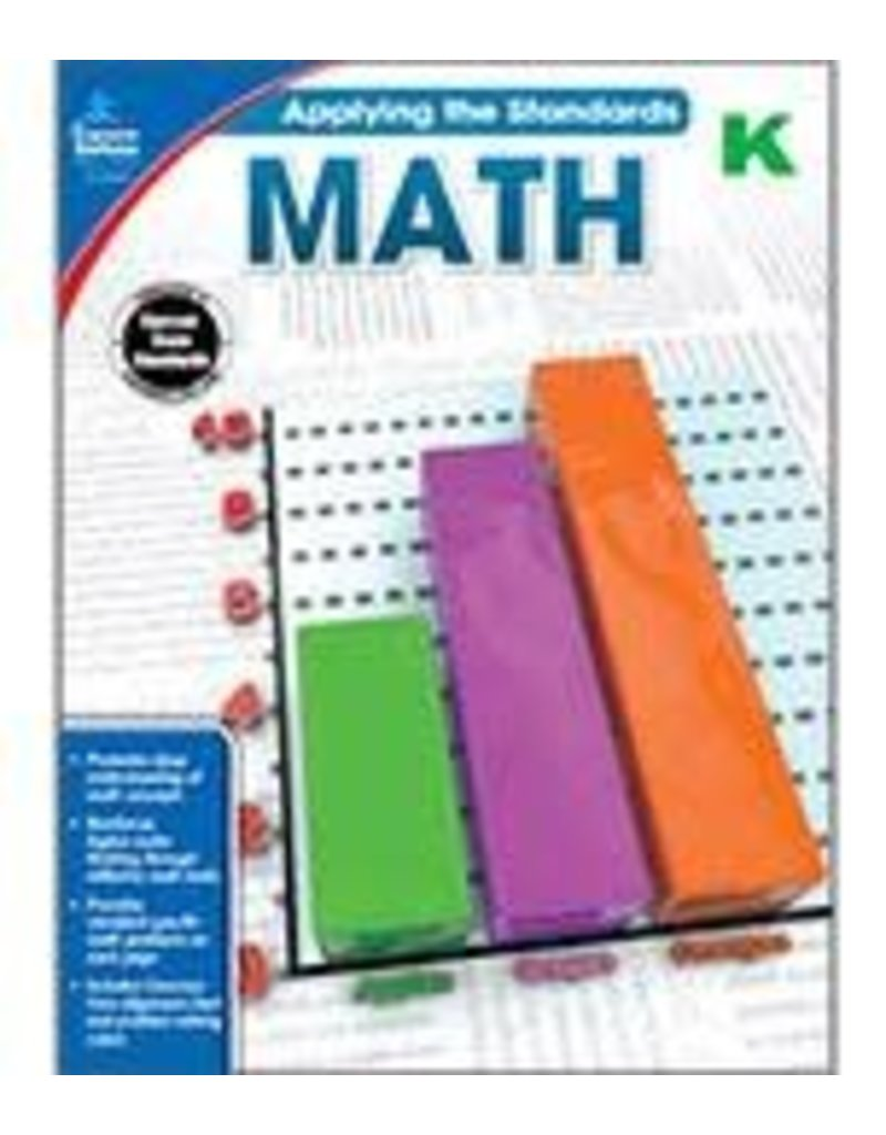 Applying the Standards: Math (K) Book