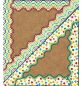 Color Me Bright TwoSided Scalloped Border