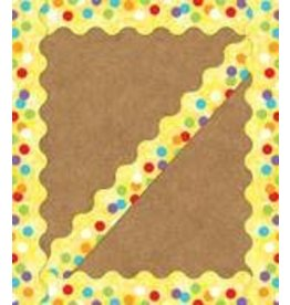 Celebrate Learning Confetti Border