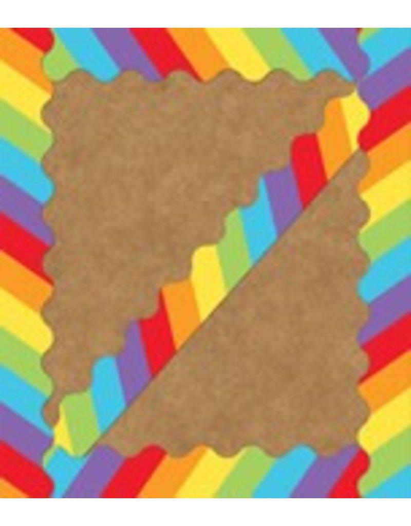 Celebrate Learning Big Rainbow Scalloped Borders