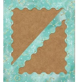 Constellations Scalloped Border