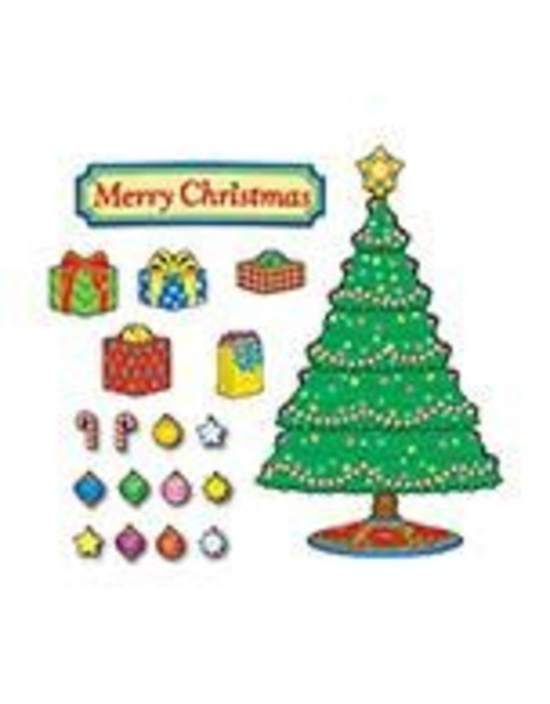Christmas Tree Mini Bulletin Board Set