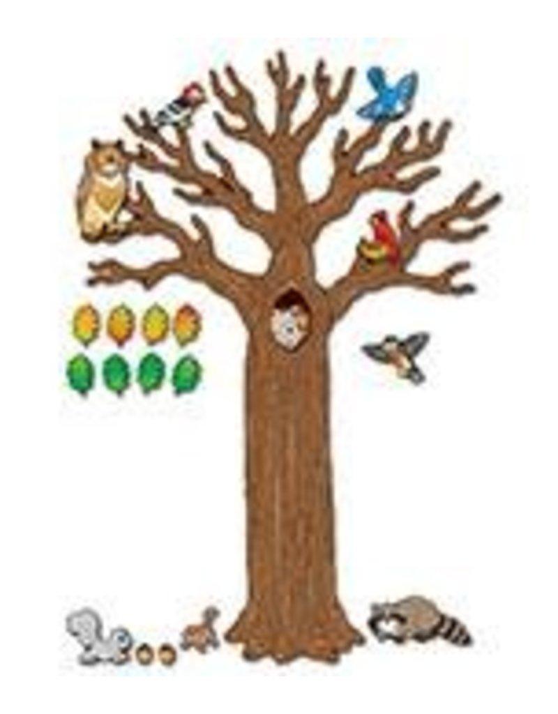 Big Tree with Animals Bulletin Board Set