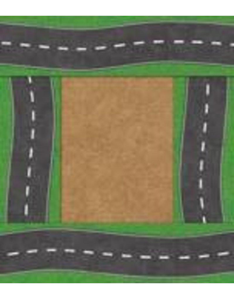 Road Big Border