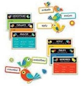 Boho Birds Higher-Order Thinking Skills Bulletin Board