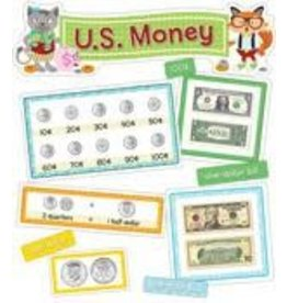 *Hipster U.S. Money Mini Bulletin Board Set