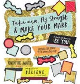 Aim High Make Your Mark Bulletin Board Set