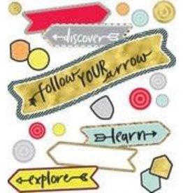 Aim High Follow Your Arrow Mini Bulletin Board Set