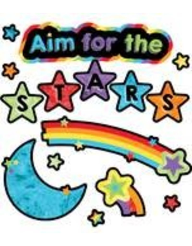 Celebrate Learning Aim for the Stars Mini Bulletin Board