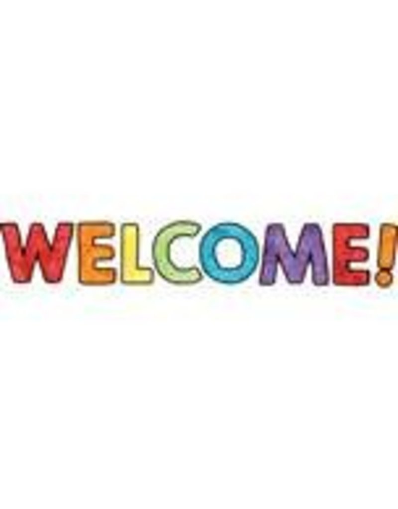 Celebrate Learning Welcome Bulletin Board
