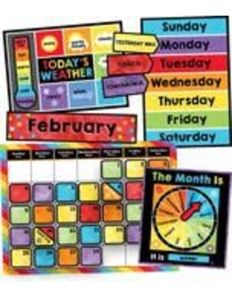 Celebrate Learning Calendar Bulletin Board