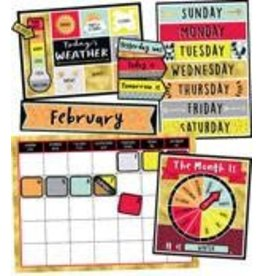 Aim High Calendar Bulletin Board