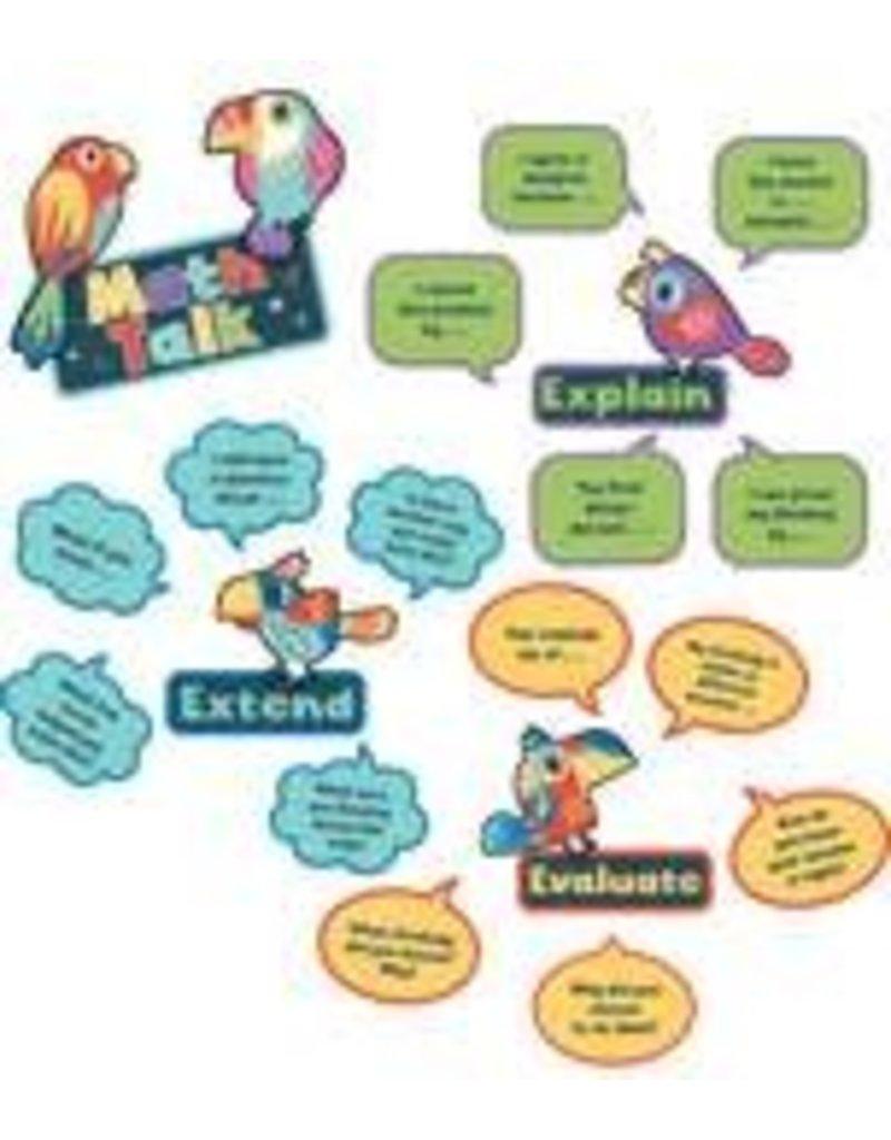 Nature Explorers Math Talk Mini Bulletin Board