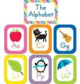 Just Teach Alphabet Cards Bulletin Board