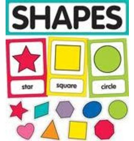 Just Teach Shapes Cards Mini Bulletin Board