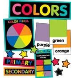 Just Teach Color Cards Mini Bulletin Board
