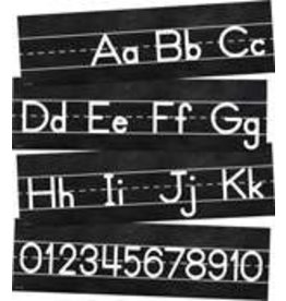 Industrial Chic Alphabet Line: Manuscript Mini Bulletin Board